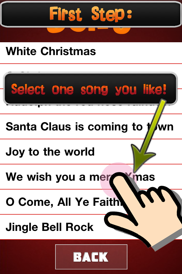 Screenshot Xmas Pianist